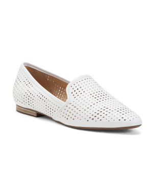 Perforated Leather All Day Comfort Flats