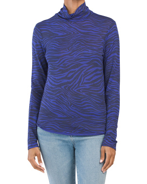 Kelly Knit Long Sleeve Turtle Neck Top