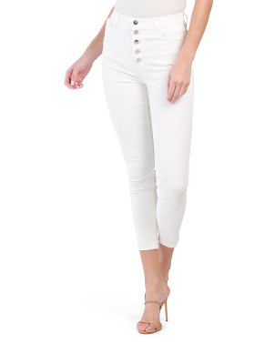 Lillie High Rise Crop Skinny Jeans