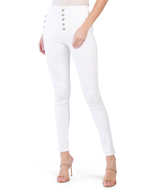 Made In Usa Natasha Sky High Skinny Jeans