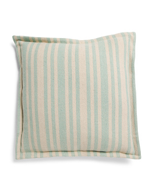 20x20 Cotton Stripe Pillow