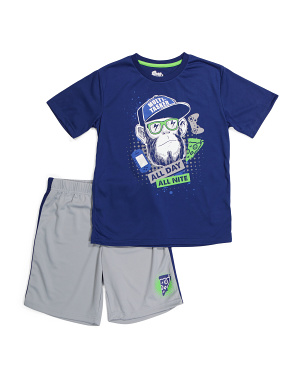 Big Boys 2pk Shorts Sleep Set