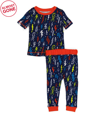 Toddler Boys Lightening Sleep Set