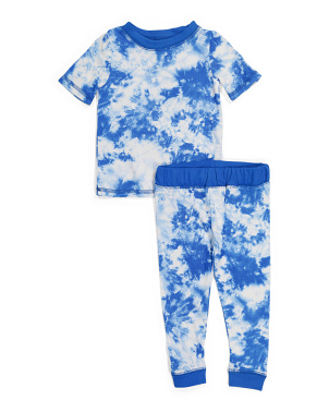 Toddler Boys Tie Dye Sleep Set
