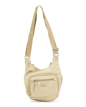 Nylon Rfid Cross City Medium Crossbody