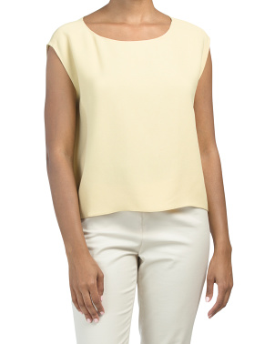 Sleeveless Straight Easy Top