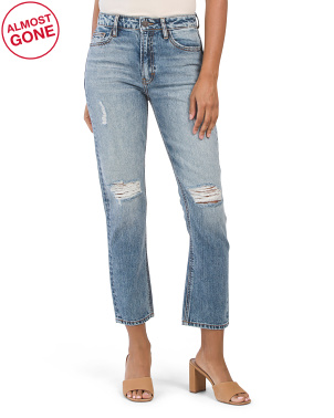 The Sofie Classic Distressed Mom Jeans