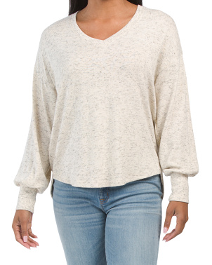 Long Sleeve Hi-lo Top