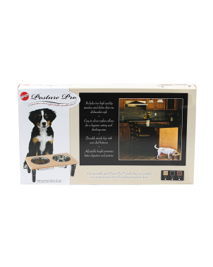 2qt Posture Pro Double Diner Pet Feeder