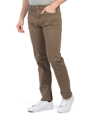 221 Straight Sateen Pants