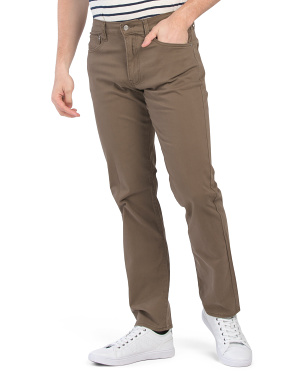 121 Slim Sateen Pants