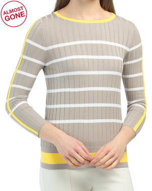 Made In Italy Stripe Sweater