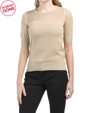 Made In Italy Shimmer Sweater