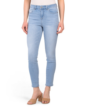 High Waisted Recycled Skinny Jeans