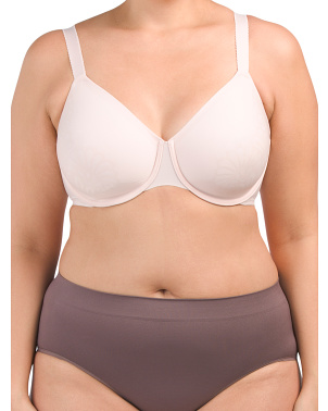 Full Figure Smoothing Underwire Bra