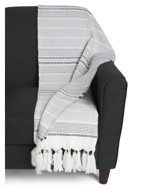 Stripe Sunsafe Throw