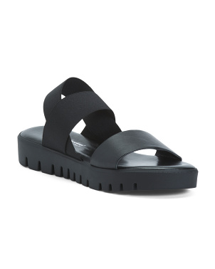 Made In Italy Double Gore Sport Sandals