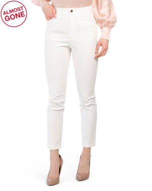 Reggie High Rise Cropped Slim Jeans