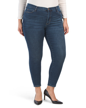 Plus Morgan Soho High Rise Skinny Jeans