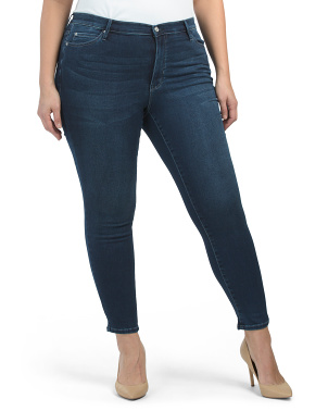 Plus Speakeasy Soho High Rise Skinny Jeans