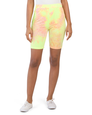 Tie Dye Bike Shorts