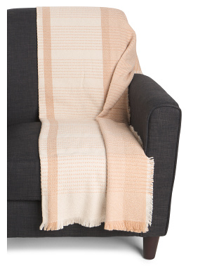 Eco Friendly Sandbar Throw