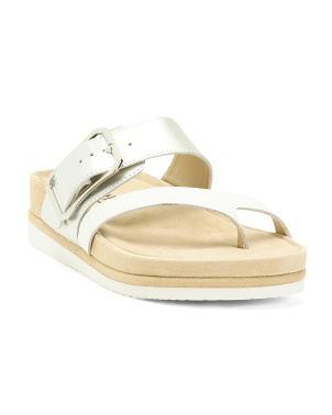 Leather Comfort Sandals