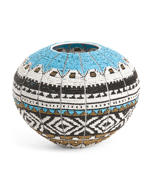 Handcrafted In Africa Ndebele Bowl