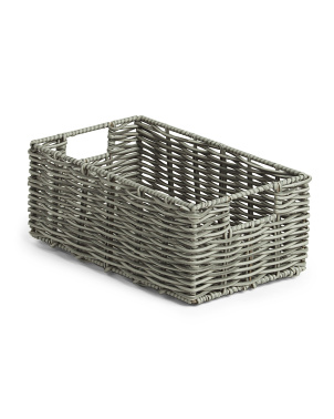 Small Cut Out Tote Basket