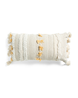 14x30 Textured Lumbar Pillow