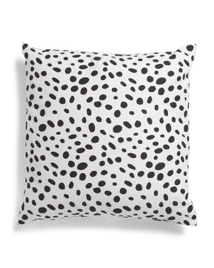 Made In Usa 22x22 Spotted Pillow