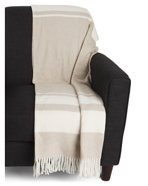 Made In Portugal Fringe Throw