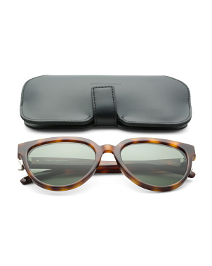54mm Oval Designer Sunglasses