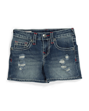 Big Girls Halle Big T Shorts