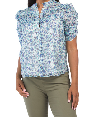 Breeze Floral Terra Top