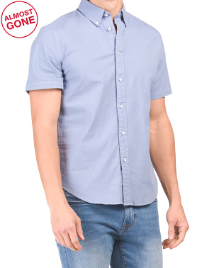 Fit 2 Slim Tomlin Short Sleeve Poplin Shirt