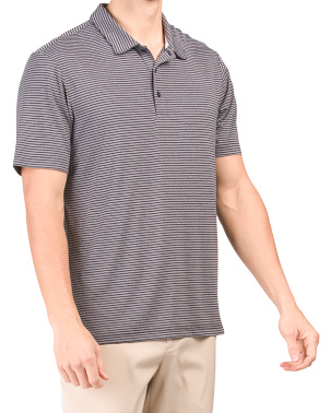 Feeder Stripe Short Sleeve Golf Polo