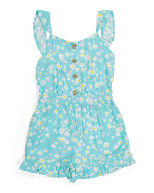 Big Girls Challis Romper