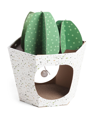 Cactus Pet Scratch House