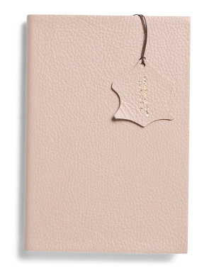Made In Italy Carne Leather Journal