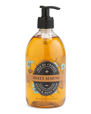Made In France 16.9oz Premium Sweet Almond Liquid Soap