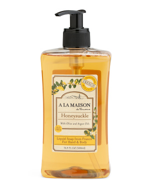 Made In France 16.9oz Honeysuckle Liquid Soap
