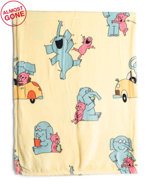 Elephant & Piggie Throw