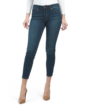 Comfort Luxe Mid Rise Skinny Jeans