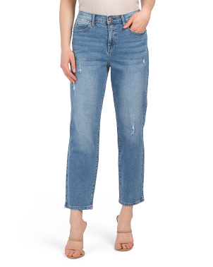 Soho High Waisted Straight Jeans