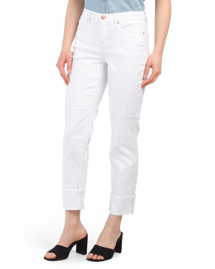 Soho High Rise Straight Leg Jeans