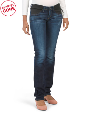 Made In Usa Maternity Ava Straight Leg Jeans