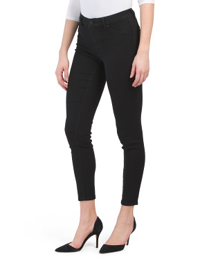 High Waist Recycled Skinny Jeans