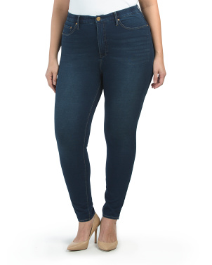 Plus Everyday High Rise Denim Jeans