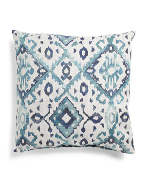 Made In Usa 22x22 Medallion Printed Pillow